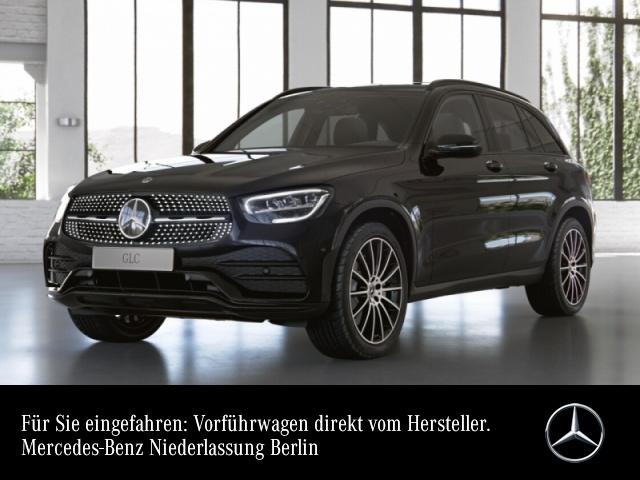 Mercedes-Benz GLC 200 4M AMG+Night+Pano+LED+Kamera+Spur+Totw+9G, Jahr 2021, Benzin