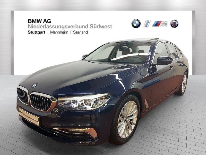 BMW 530d Limousine Head-Up HK HiFi Standhzg. GSD, Jahr 2017, Diesel