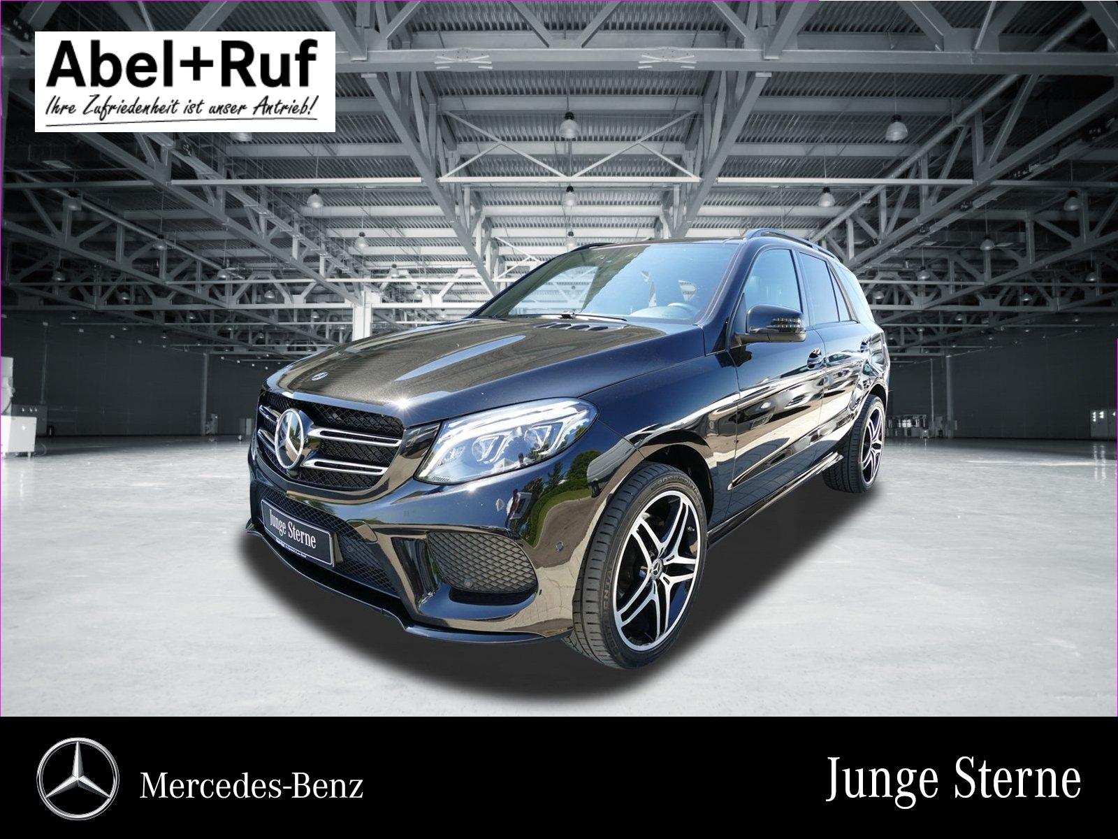 Mercedes-Benz GLE 500 4M AMG Distr B&O Airmatic Pano NP:119TE, Jahr 2017, petrol