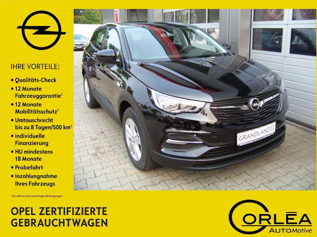Opel Grandland X 1.2 Edition Klima Winterpaket, Jahr 2018, Benzin