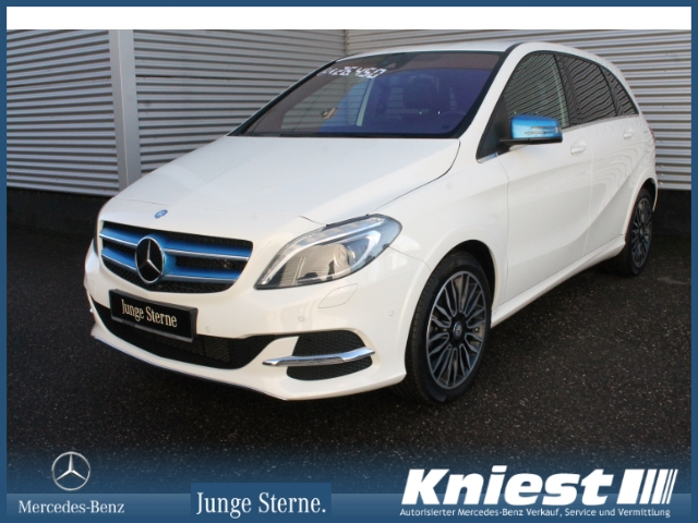 Mercedes-Benz B Electric Drive 250e Range Plus+Electric-Art+Xenon, Jahr 2016, Elektro