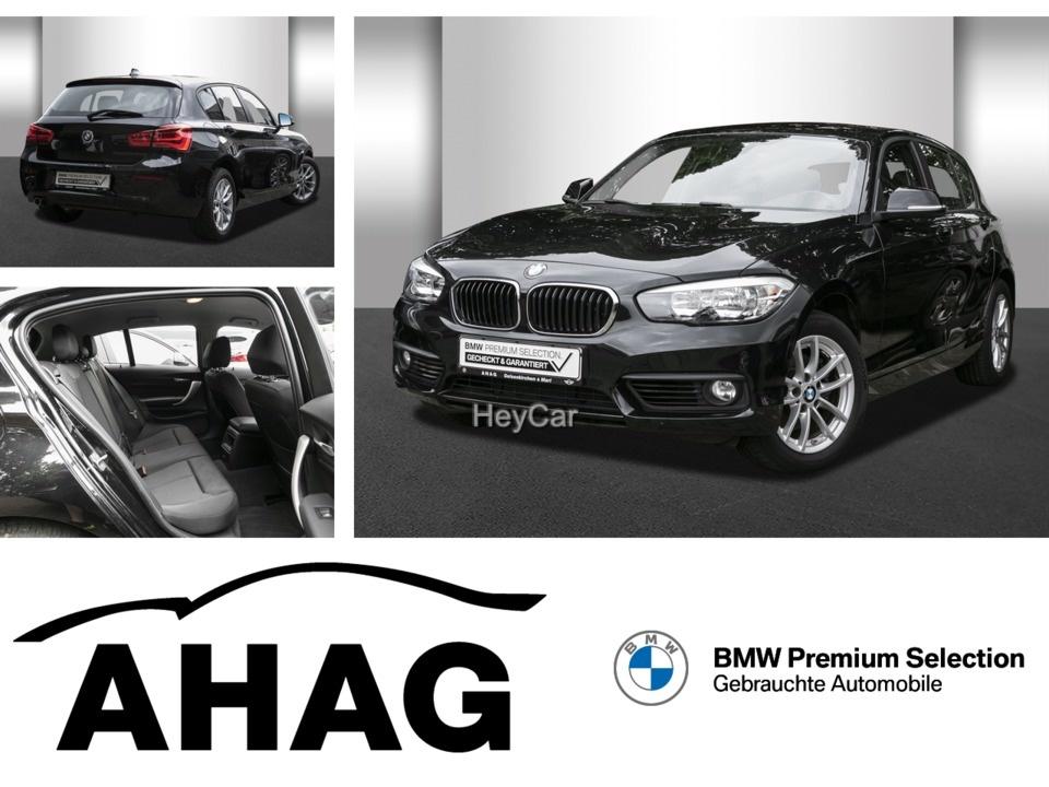 BMW 120i Advantage Navi Speed Limit Sitzhzg Lordose, Jahr 2018, Benzin