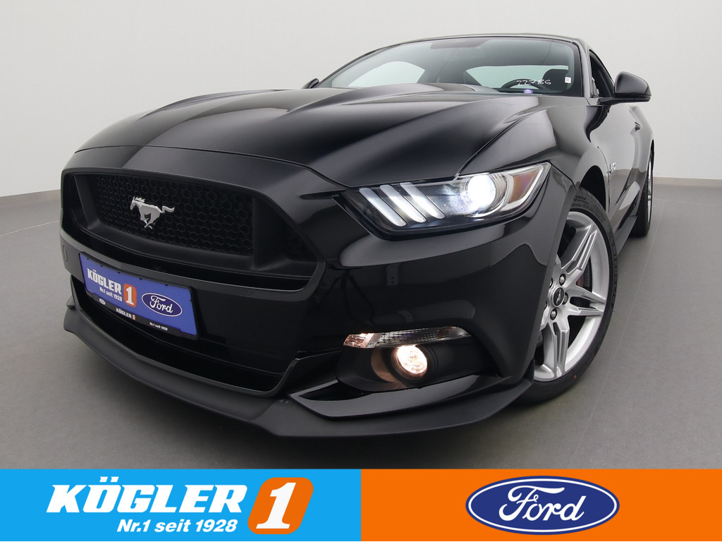 Ford Mustang GT 5.0 V8 Coupe 421PS/Premium-Paket, Jahr 2017, Benzin