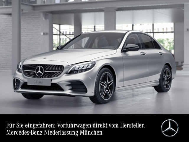 Mercedes-Benz C 200 AMG+Night+LED+Kamera+Spur+Totw+Keyless+9G, Jahr 2021, Benzin