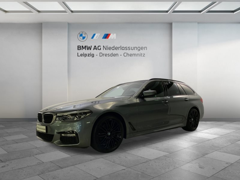 BMW 520d xDrive Touring EURO6 Sportpaket Head-Up HiFi DAB LED, Jahr 2017, Diesel