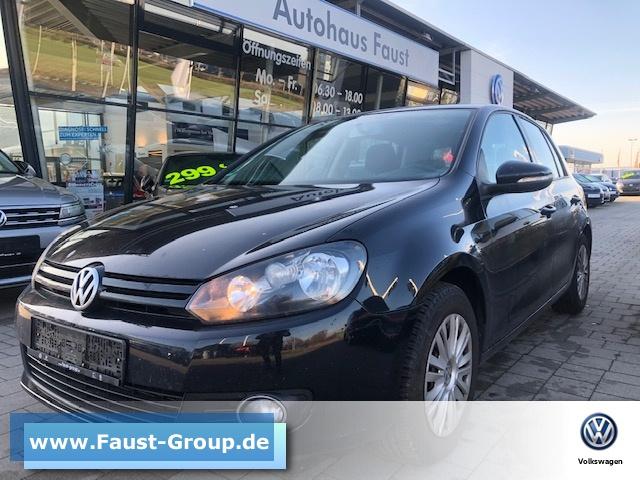 Volkswagen Golf VI Style UPE 26000 EUR XENON, Jahr 2012, petrol