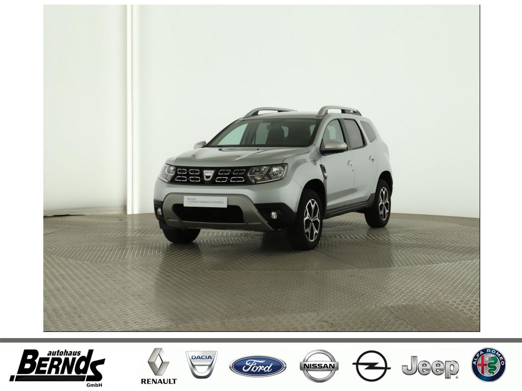 Dacia Duster TCe130 2WD GPF Prestige LEDER NAVI KLIMA, Jahr 2020, Benzin