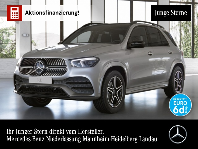 Mercedes-Benz GLE 300 d 4M AMG WideScreen Pano LED AHK Night PTS, Jahr 2020, Diesel