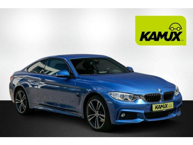 BMW 420d xDrive Aut. M-Sport+Estorilblau2+Navi+Xenon, Jahr 2015, Diesel