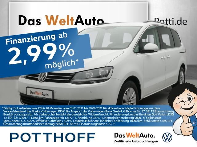 Volkswagen Sharan 2.0 TDI BMT Comfortline ACC Telefon Navi PD, Jahr 2017, Diesel