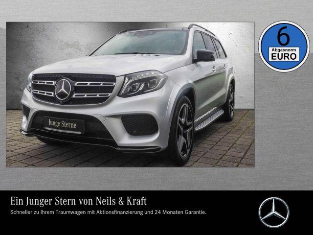 Mercedes-Benz GLS 500 AMG+AHK+NIGHT+PANO+CARPLAY+ACTIVE CURVE+, Jahr 2016, Benzin