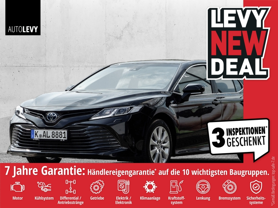 Toyota Camry Business Edition *NAVI*LEDER*TEMPOMAT* 16%, Jahr 2019, Hybrid