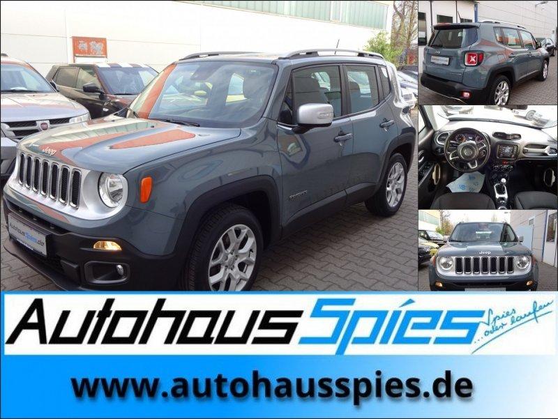 Jeep Renegade 1.4 MultiAir 4x2 Limited EURO6, Jahr 2016, petrol
