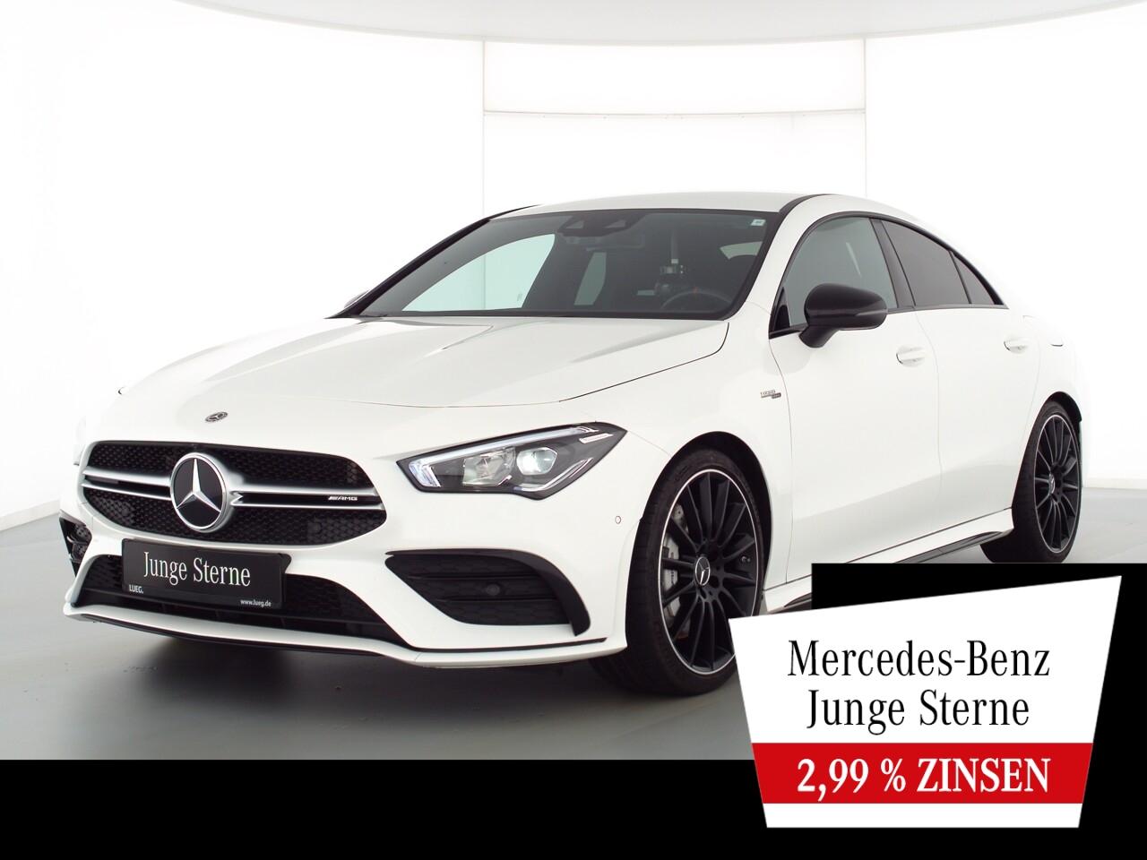Mercedes-Benz CLA 35 AMG 4M MBUX+NavPrem+LED-HP+RIDE+Sound+RFK, Jahr 2019, Benzin