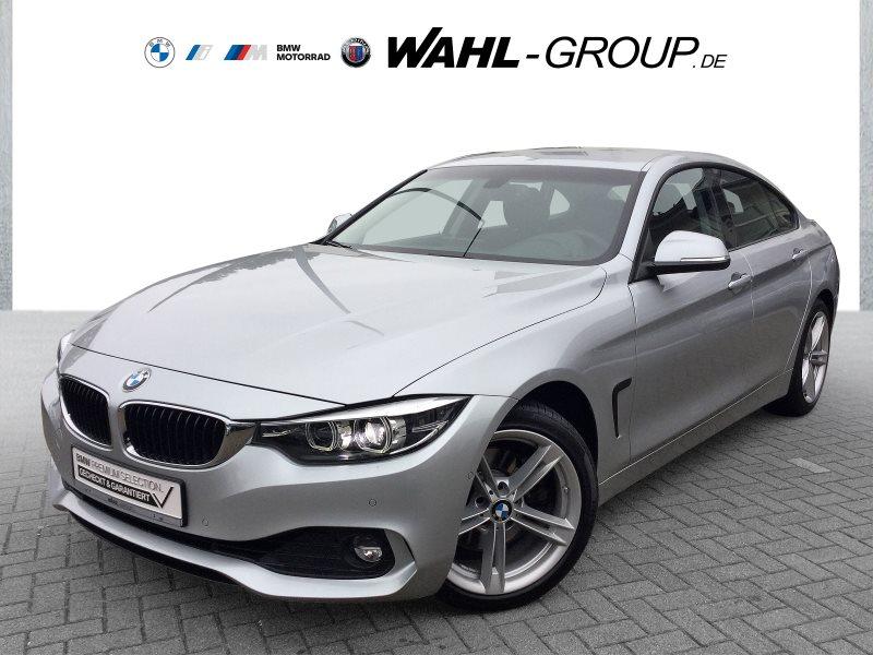 BMW 430i Gran Coupé Aut. HK HiFi Navi Prof. RFK, Jahr 2017, Benzin