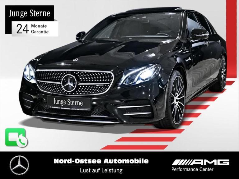 Mercedes-Benz E 53 AMG 4M+ Comand DriversPack Distro SHD Wide, Jahr 2018, Benzin