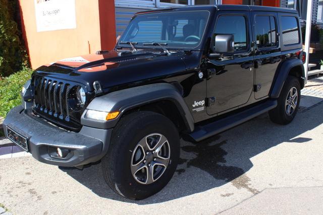 Jeep Wrangler Sport (JL) 2.0 275 PS 200 kW (272 PS..., Jahr 2020, Benzin