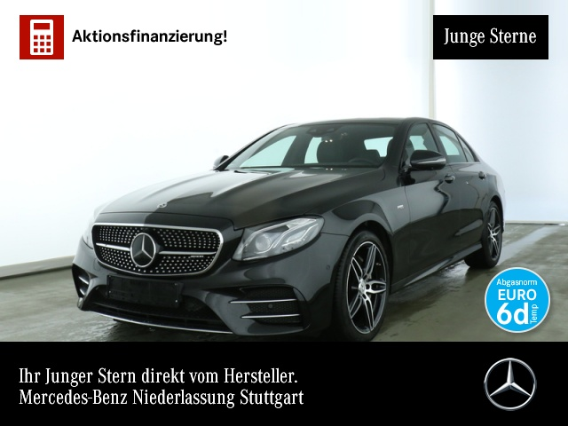 Mercedes-Benz E 53 AMG 4M+ Wide.COMAND.Fahrass.Multi.360°.DAB, Jahr 2019, petrol