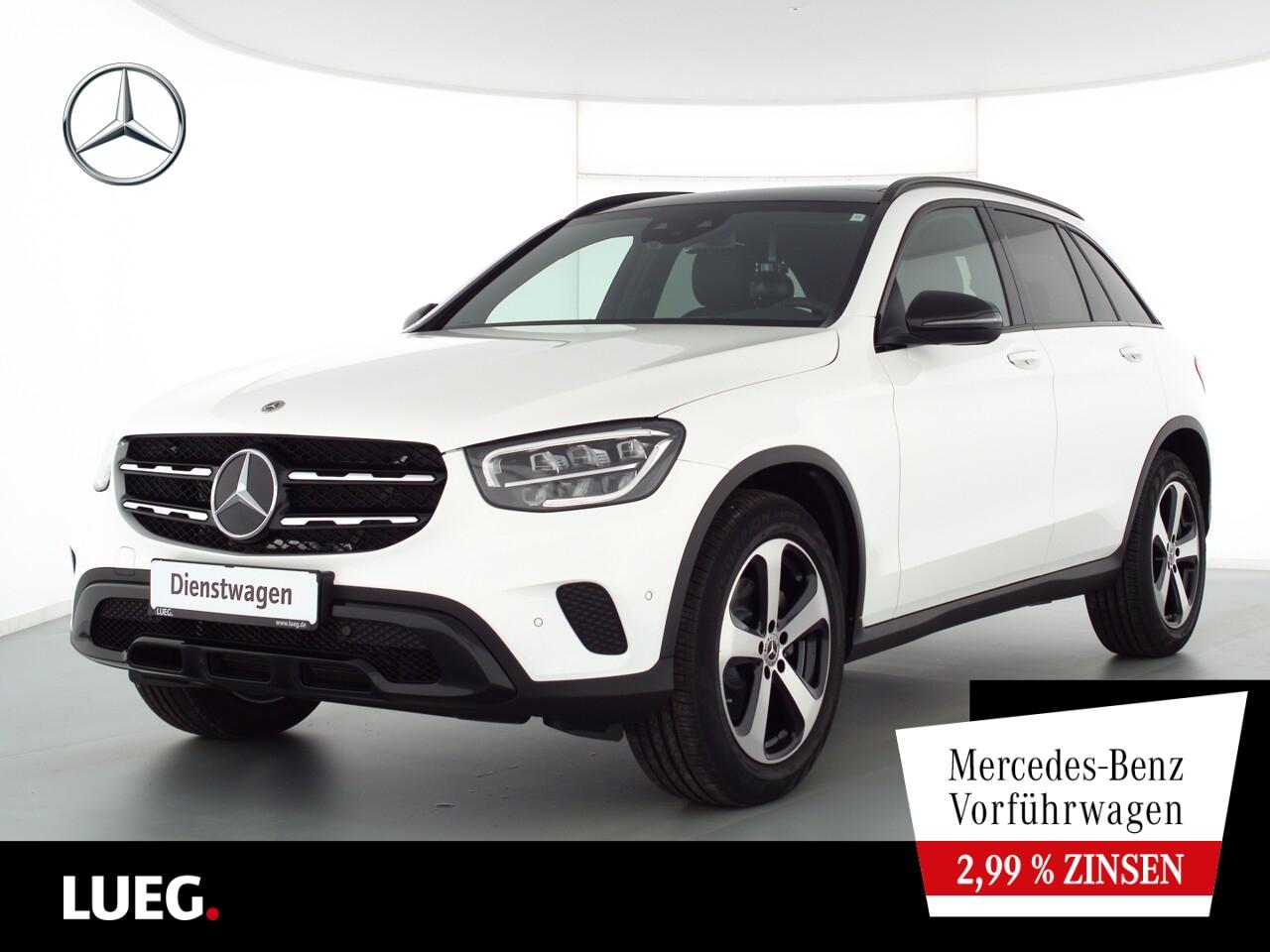 Mercedes-Benz GLC 200 4M NIGHT+EXCLUSIVE+PANO+AHK+SOUND+KAMERA, Jahr 2021, Benzin