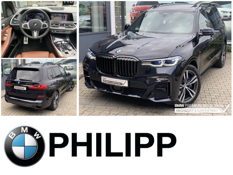 BMW X7 M50d Massage St.Hz. Laser Sky Sitzbelüftung, Jahr 2020, Diesel