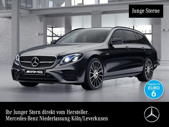 Mercedes-Benz E 43 AMG T 4M Fahrass.Wide.HuD.Multi.Burmester, Jahr 2017, Benzin