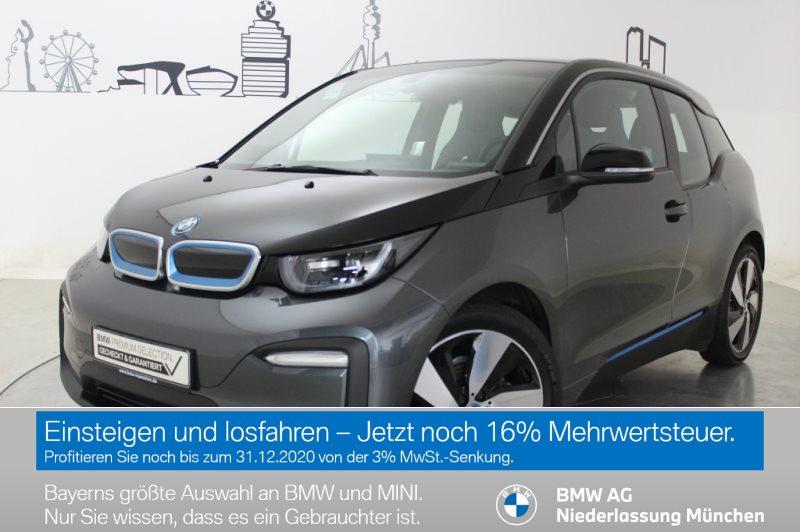 BMW i3 94Ah Navi Prof. RTTI Wärmep. Komfortzg. Shz, Jahr 2019, Elektro