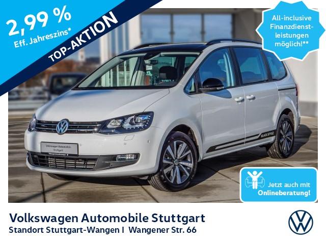 Volkswagen Sharan 2.0 TDI DSG 7-Sitzer Black Style Navi ACC, Jahr 2020, Diesel