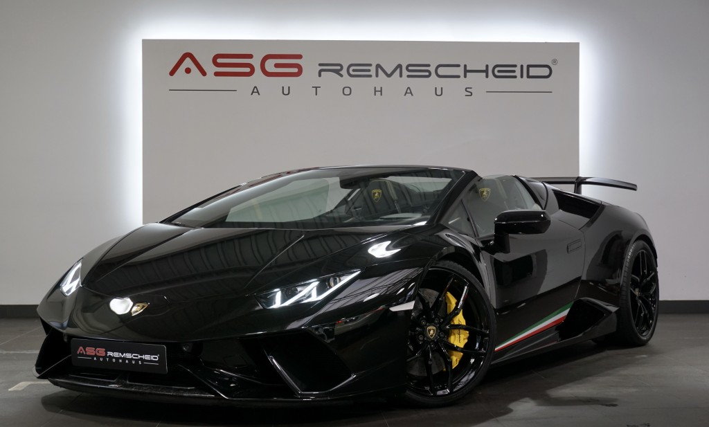 Lamborghini Huracán LP 640-4 Performante Spyder *Lift*Forged, Jahr 2018, Benzin
