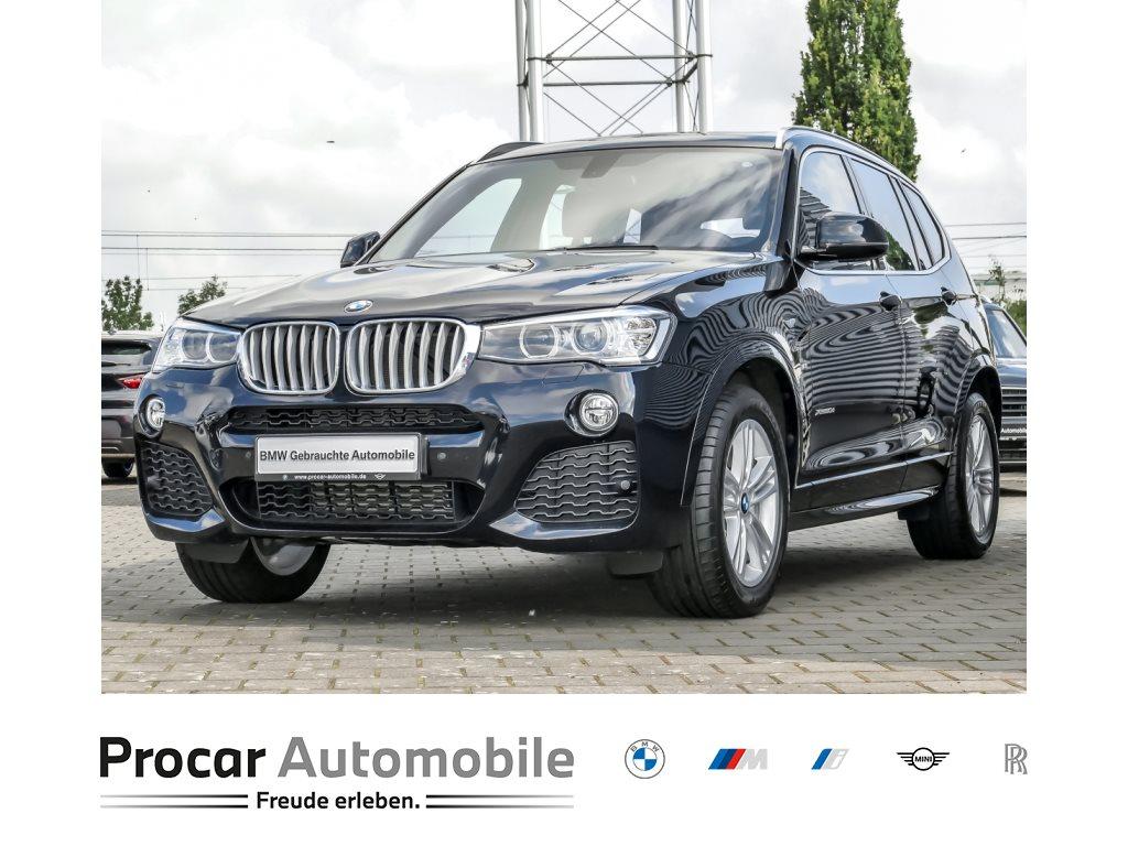 BMW X3 xDrive30d M Sportpaket Navi Xenon AHK Pano, Jahr 2017, Diesel