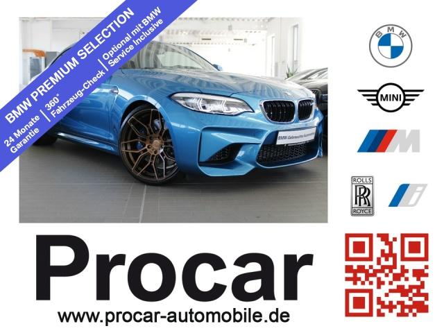 BMW M2 Coupe MDKG NaviProf. MDrivers Package H/K RFK, Jahr 2018, Benzin