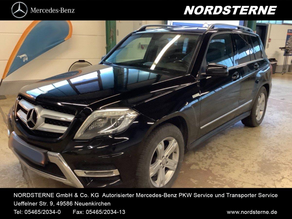 Mercedes-Benz GLK 220 CDI 4M+AMG-STYLING+ILS+NAVIGATION+AHK, Jahr 2014, Diesel
