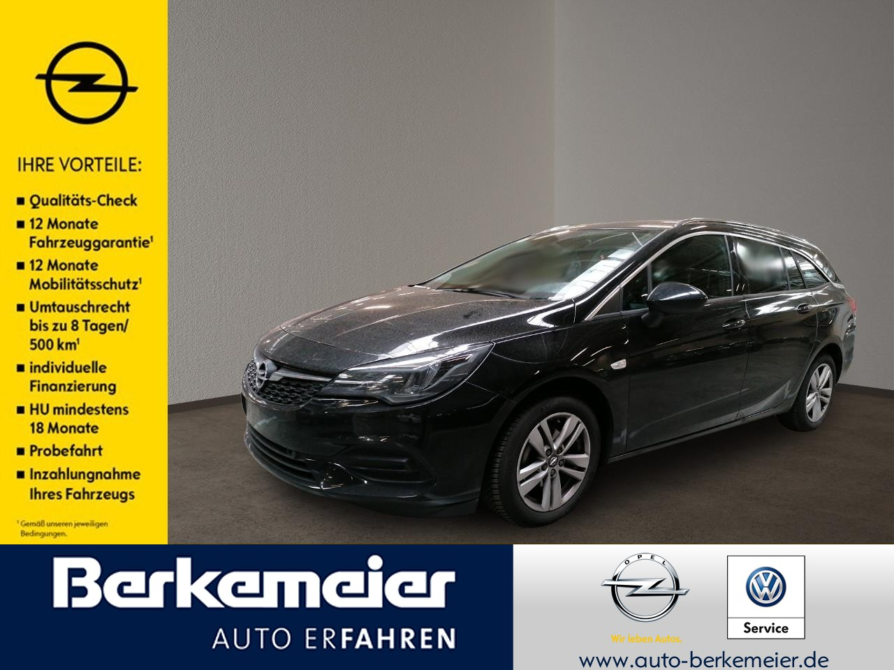 Opel Astra ST Elegance *Navi/Klimaautom/Kamera/LED*, Jahr 2020, Benzin