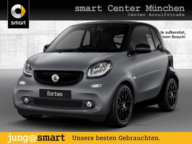 smart fortwo coupé 66kW prime DCT cool&Media SHZ Pano, Jahr 2017, Benzin