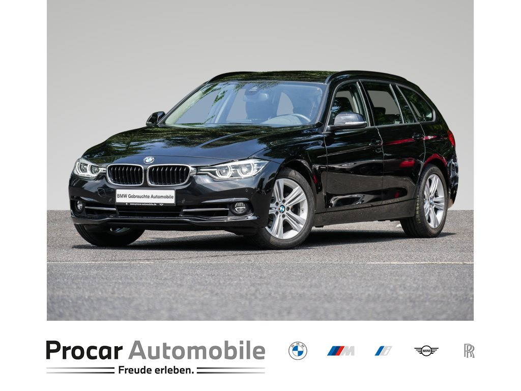 BMW 318i +SPORT-LINE+HIFI+LED+WLAN+NAVI PROFESSIONAL+SHZ+, Jahr 2019, Benzin