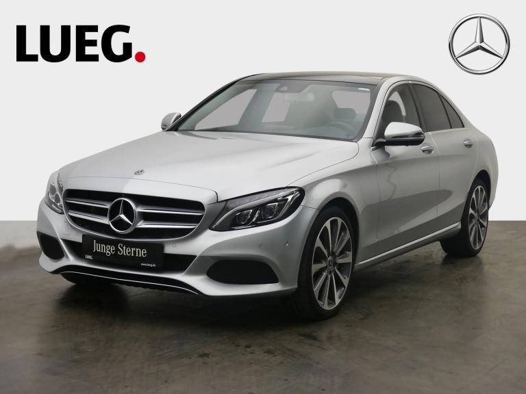 Mercedes-Benz C 250 Avantgarde+COM+Pano+LED-ILS+AHK+SpurP+360°, Jahr 2018, Benzin