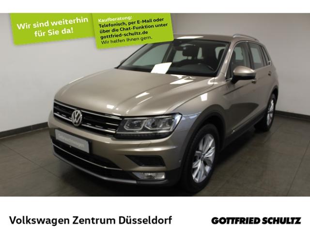 Volkswagen Tiguan Highline 4Motion 2.0 TDI DSG *AHK*LED*Navi*Keyless*PDC*, Jahr 2016, Diesel