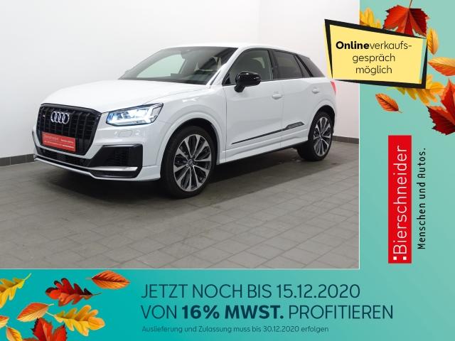 Audi SQ2 2.0 TFSI qu. S tronic 569,- Leasing 19 LED VIRTUAL AHK ACC NAVI LEDER PDC GRA DAB, Jahr 2019, Benzin