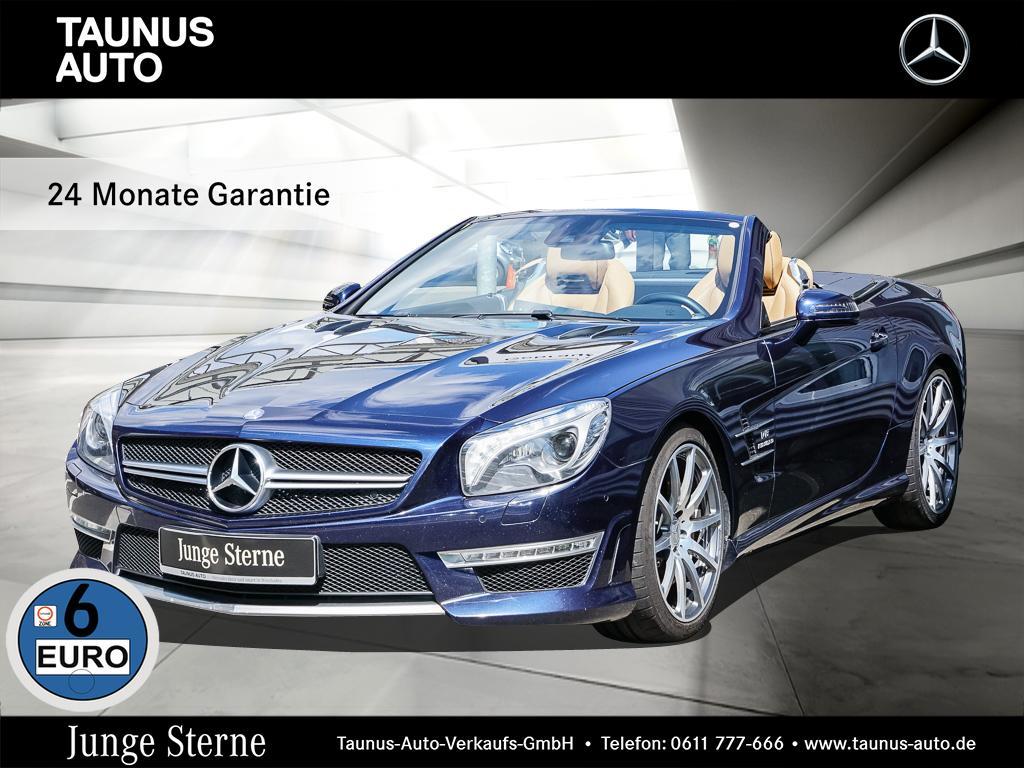 Mercedes-Benz SL 63 AMG COMAND-B&O-DRIVERS-PACKAGE-UVP 204.500, Jahr 2014, petrol