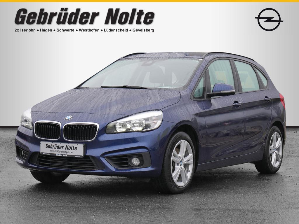BMW 218 Active Tourer Advantage, Jahr 2016, Benzin