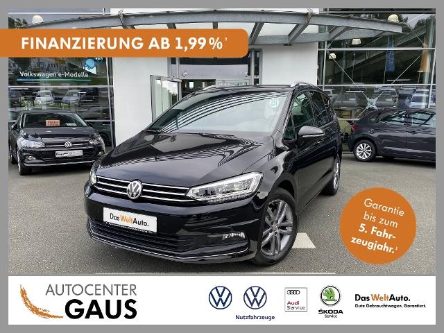 Volkswagen Touran United 1.5 TSI LED Klima Navi ACC, Jahr 2020, Benzin