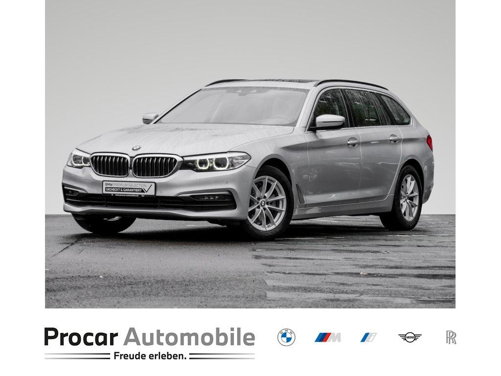 BMW 520d TOURING+HIFI+LED+SHZ+NAVI PROF.+PANO. DACH+WLAN+, Jahr 2018, Diesel