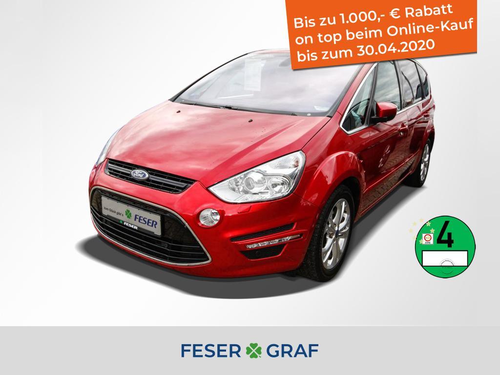 Ford S-Max 2.0 Ecoboost SCTi Titanium BI-XENON+PANO, Jahr 2013, Benzin
