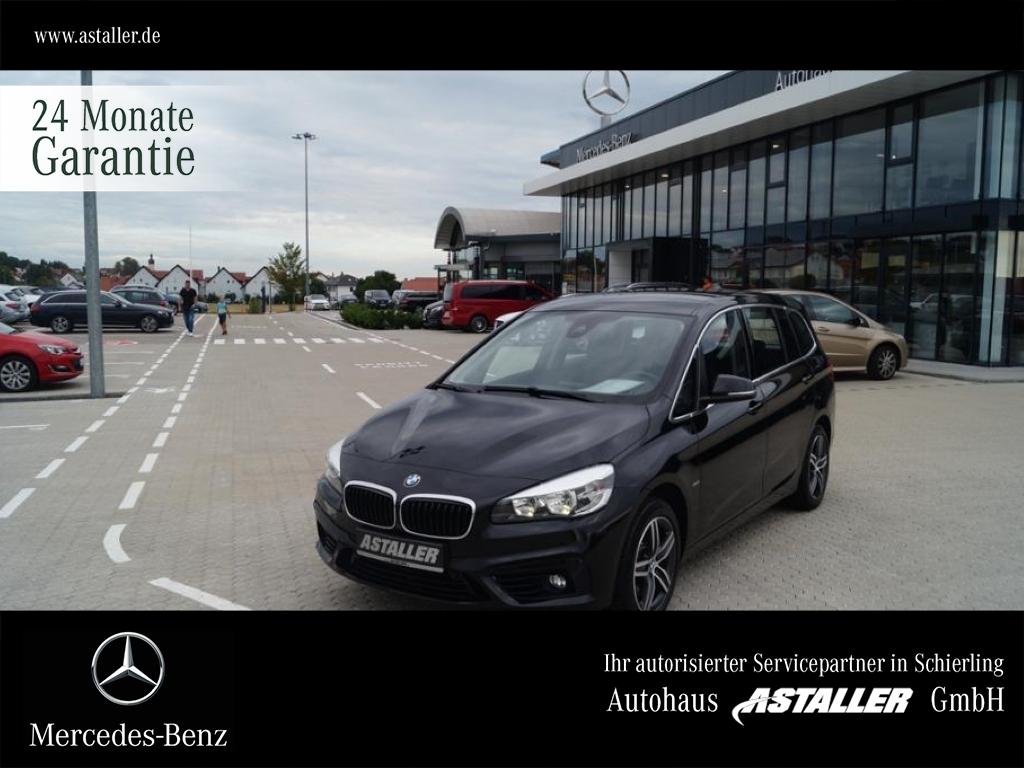 BMW 220d Gran Tourer 2er xDrive Sport Line Businessp, Jahr 2016, Diesel