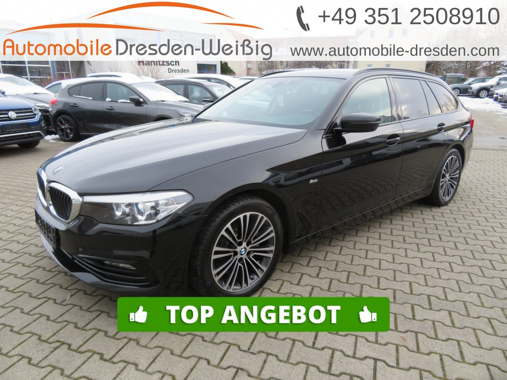 BMW 520 d Touring Sport Line*Navi*LED*PDC*18Zoll*, Jahr 2017, Diesel