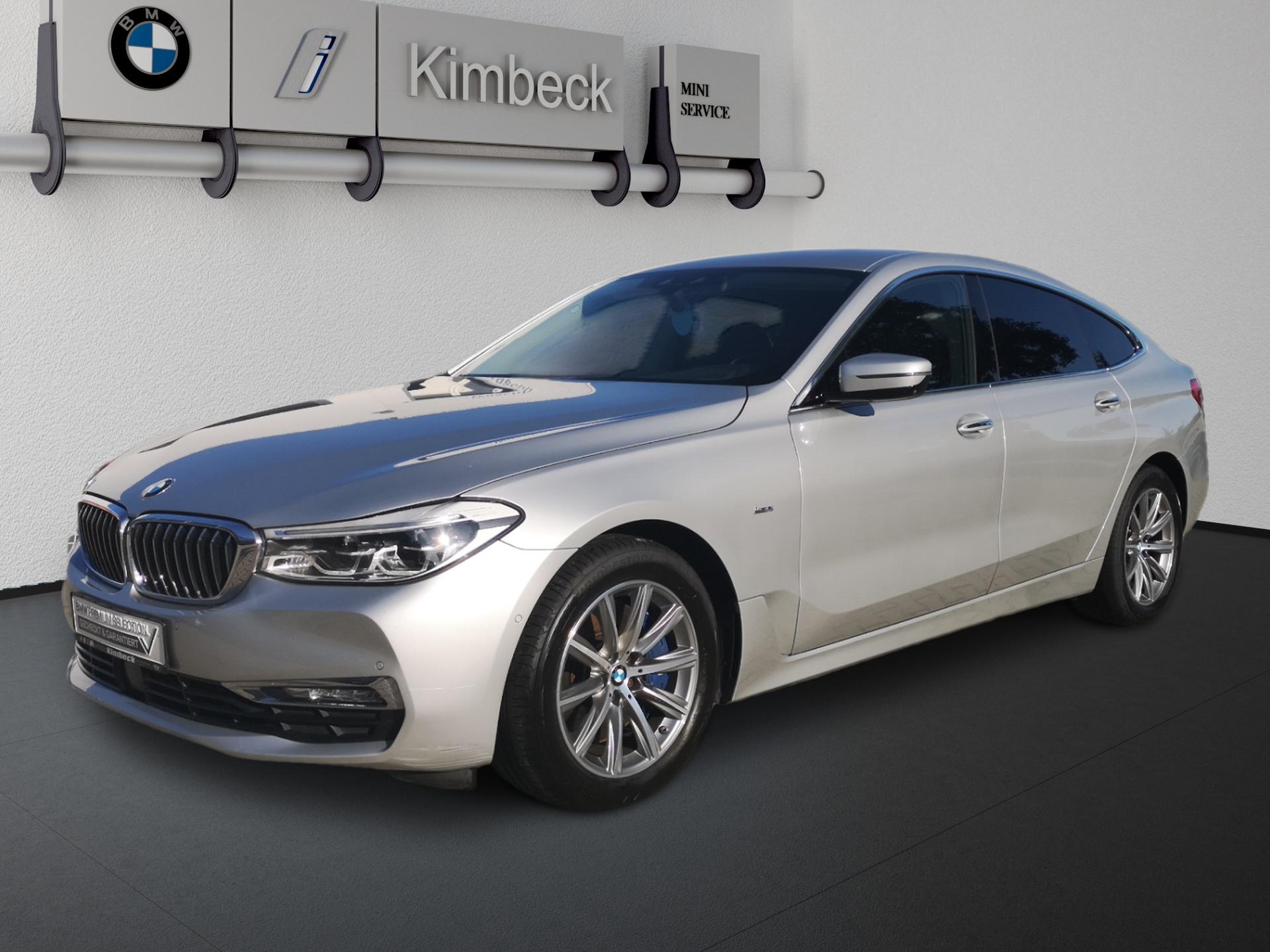 BMW 640i xDrive Gran Turismo Luxury Line VOLLAUSSTA., Jahr 2017, Benzin