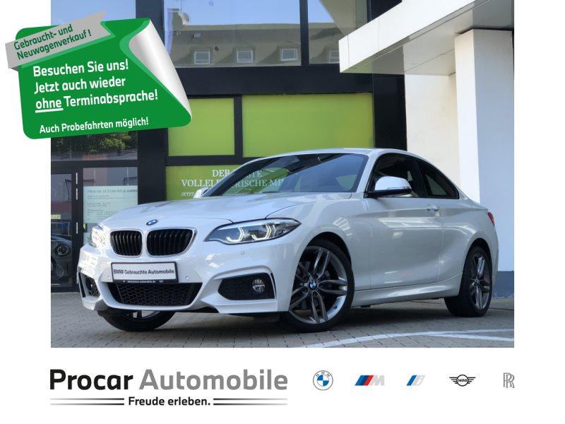 BMW 220i Coupé MSport DAB Adapt.LED RFK Navi Prof., Jahr 2018, Benzin