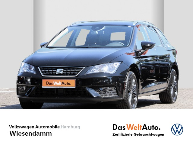 Seat Leon Kombi ST 1.5 TSI DSG Xcellence Klimaautomatik LM PDC Navi AHK abnehmbar Tempomat, Jahr 2019, Benzin