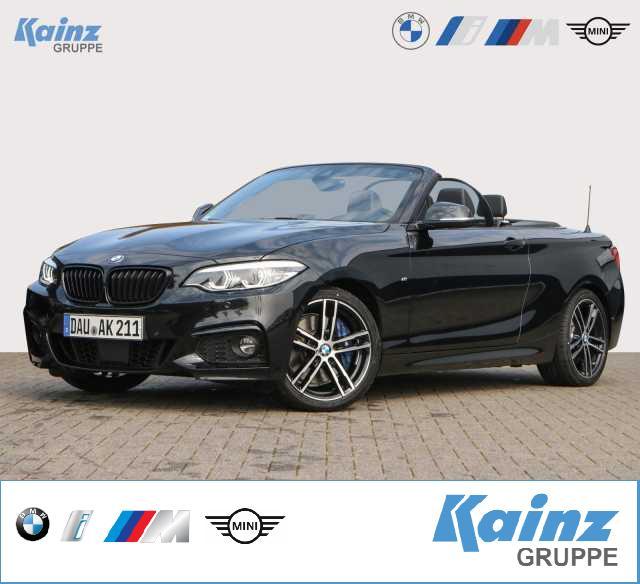 BMW 230i Cabrio Aut. M Sport 18'/Lenkradheizung/AHK/Fernlichtassistent/Harmon Kardon, Jahr 2021, Benzin