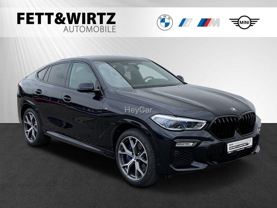 BMW X6 M50d Standhzg. Pano Leas. ab 1.217,- br.o.Anz, Jahr 2020, Diesel