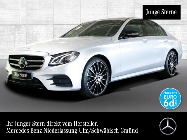 Mercedes-Benz E 450 4M AMG Fahrass Burmester Distr. COMAND LED, Jahr 2019, Benzin